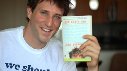 Josh thinks you should read his book, too.