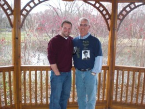 Me and dad.