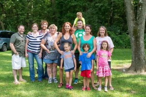 Me, Lesleigh - Tony and Katie Memmel, Molly and Ryan, Eric and Sam, Patti and Tate, Jen and Jordan