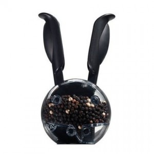 Are black rabbits bad luck? It looks kind of like a black rabbit.