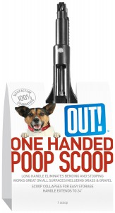 one handed poop scoop