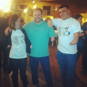 Beka and Nick rocked their LOH shirts, too!