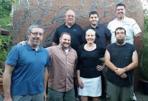 Front: Chris, Me, Kerstin, Nate Back: Rick, Michael, Mike