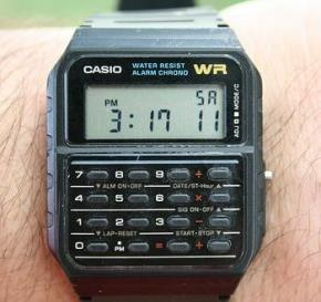 The Calculator Watch!