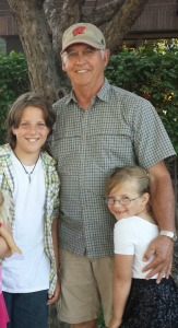 Sam, Papa and Claire