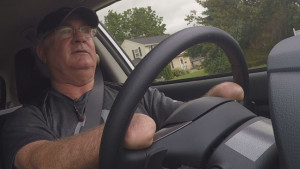 Mr. Speckman driving (credit: wbay.com)